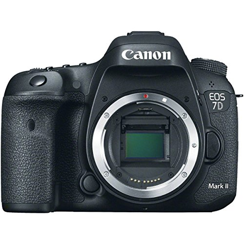 Canon EOS 7D Mark II 20.2MP HD 1080p DSLR Camera Body Only (Certified Refurbished)