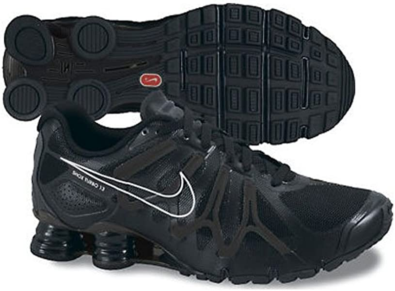 premium selection 9f4c1 939ec Nike New Shox Turbo + 13 Black Mens 7.5