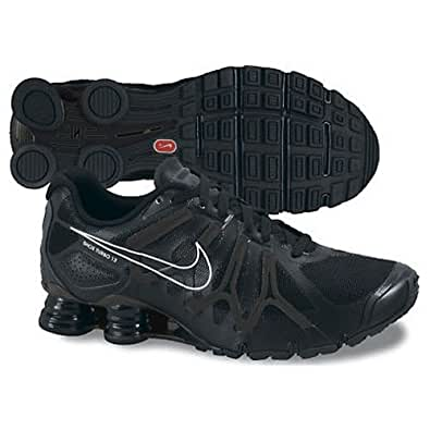 New Nike Shox Turbo + 13 Black Mens 7.5