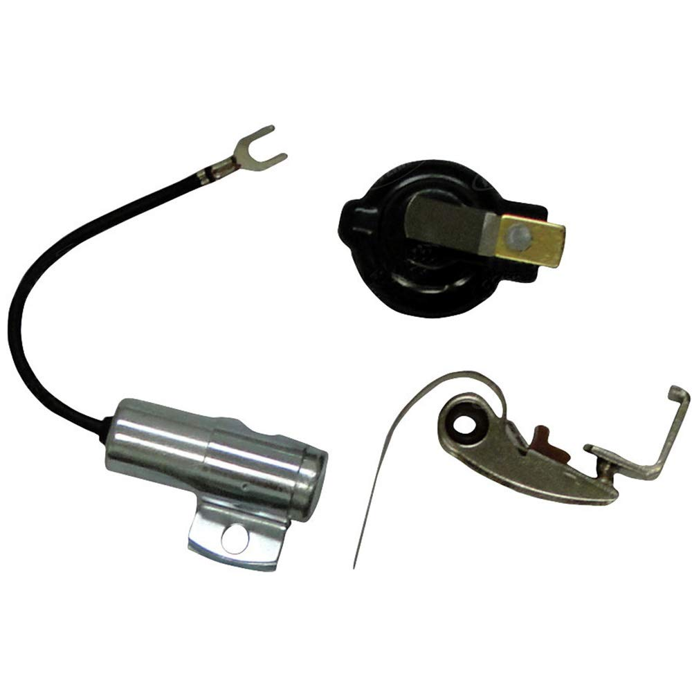 Amazon com: 407018R91 New Ignition Kit w/ Point Condenser