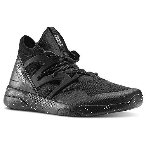 Mens Reebok LES MILLS HAYASU Dance Shoes Black / White / Atomic Red Black KlL2P1