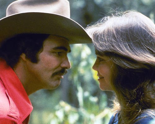 Smokey and the Bandit Featuring Sally Field, Burt Reynolds 11x14 Promotional Photograph