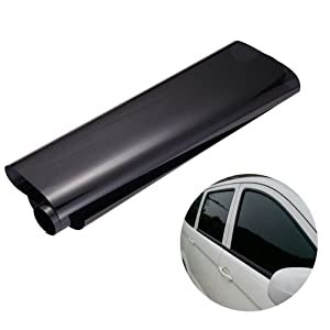 WINOMO 50cm _ 3M Car Window Tint Film Universal Glass Vinyl Film for for Privacy and Heat Reduction(Black)