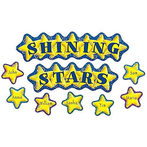 Teacher Created Resources Shining Stars Mini Bulletin Board (4780)