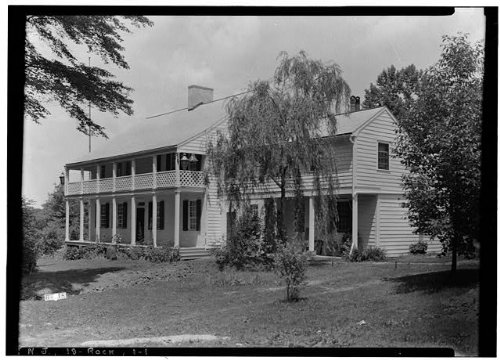(HistoricalFindings Photo: Judge John Berrien House,Rocky Hill Road,Rocky Hill,Somerset County, Jersey)