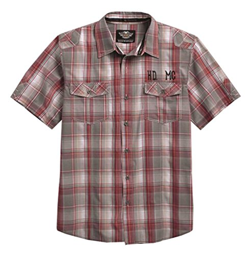Harley Davidson Short Sleeve Plaid 96154 16VM
