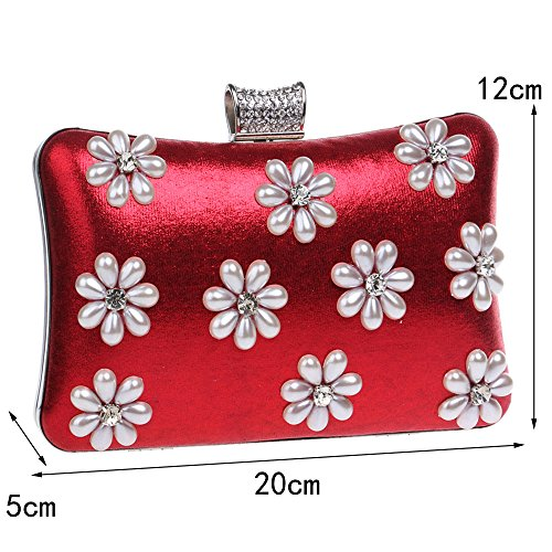 New Clutch Ladies Luxury Blue Dinner Fashion Bag Ladies Bag GROSSARTIG Banquet Snowflake Bag Exquisite Evening wUSEfq