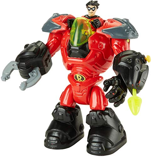 Imaginext ROBIN Mechanical Suit Gotham City Exclusive Figure Playset -