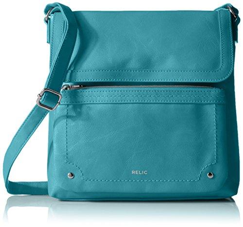 Relic Evie Flap Crossbody, Ocean (Cross Body Flap Handbag)