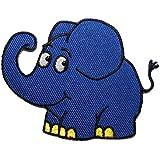 die Sendung mit der Maus - blauer Elefant 7,8 cm * 6,1 cm Bügelbild Aufnäher Applikation Tier Tiere