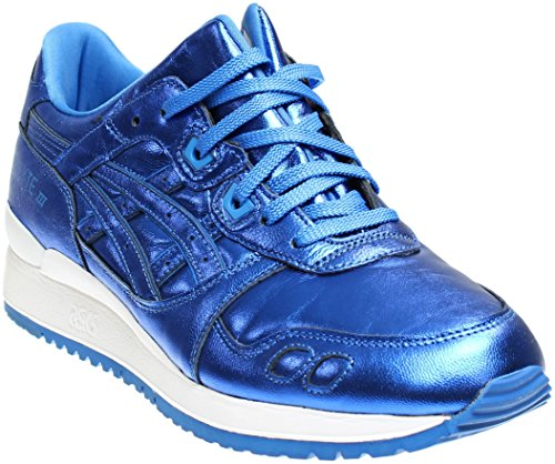 ASICS Women's Gel-Lyte III Retro Running Sneaker, Classic Blue/Classic Blue, 10 M US by ASICS