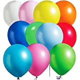 MESHA® 12 Inches Assorted Color Party Balloons (144 Pcs) Very High Quality - USA SELLER