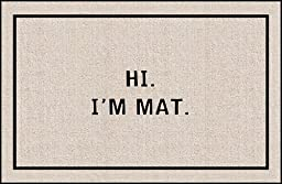 Hi I\'m Mat (Natural/Black) (18\