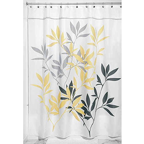 InterDesign Leaves Curtain 72 Inch 84 Inch product image