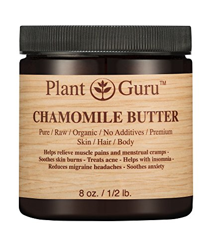 Cheap Chamomile Butter 8 oz. 100% Pure Raw Fresh Natural Cold Pressed. Skin Body and Hair Moisturizer, DIY Creams, Balms, Lotions, Soaps.