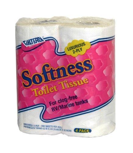 Valterra Q23630 Softness 2-Ply Toilet Tissue, (Pack of 4) (Rv Tissue compare prices)
