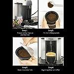 I-Cafilas-capsule-caffe-ricaricabili-filtro-caffe-riutilizzabili-compatibili-con-Nespresso-Vertuo-1-cucchiaio-1-spazzolacon-50-Pcs-Filter50-Pcs-Aluminum-Foil