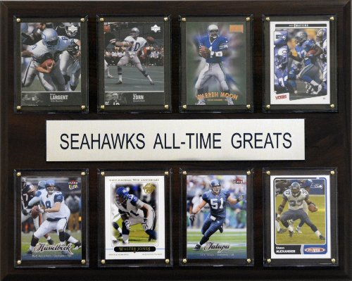 NFL Seattle Seahawks All-Time Greats Plaque
