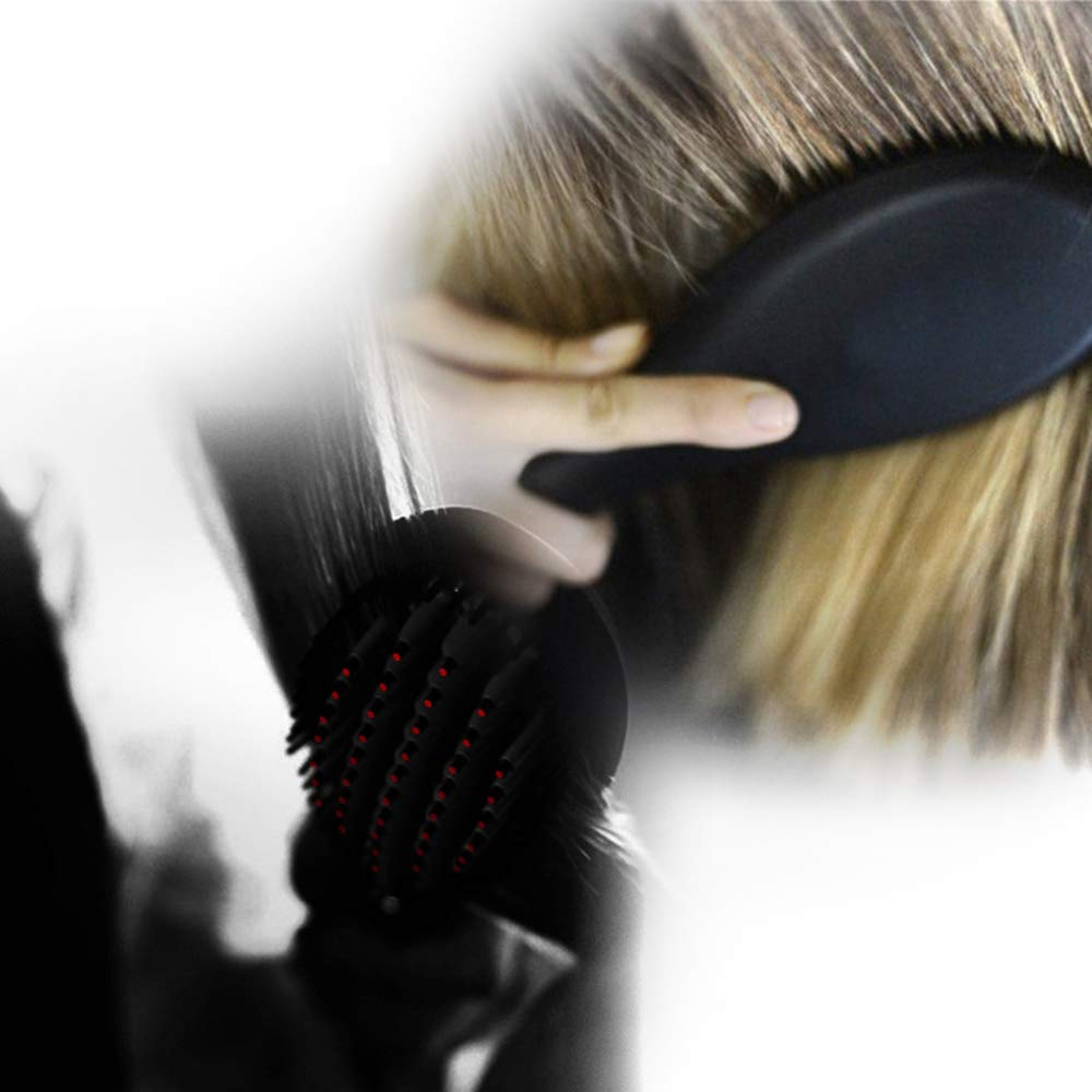 Hairbrush 3 in 1 Tube Change 3p Tube Curling Device Automatic Ceramic Hair Curler for Any Hair by Bycws (Image #8)