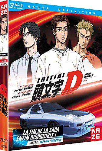 Initial D : Extra Stage 2 + Fifth Stage + Final Stage - Edition Br [Blu-ray]