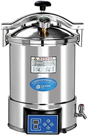 Athenadental 18L portátil médico Vapor Autoclave esterilizador Alta presión Mesa Euipment Dental: Amazon.es: Hogar