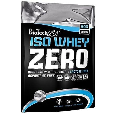 BioTech Isowhey Zero Lactose Free, Proteínas con sabor de Avellana, 500 gr: Amazon.es: Salud y cuidado personal