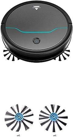 Bissell Ev675 Robot Aspirador para Suelos Duros Y Alfombras, Negro + Bissell Cepillos Laterales, Paquete de 2: Amazon.es: Hogar