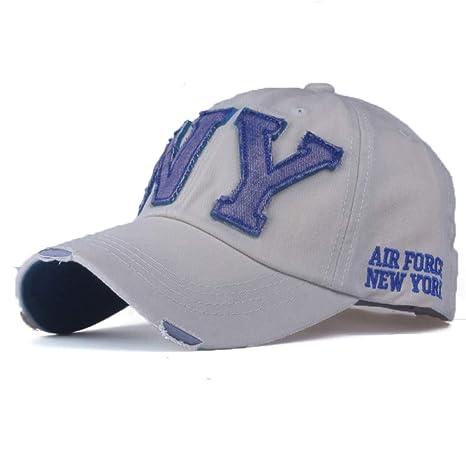 YPORE Sombrero del Snapback De La Gorra De Béisbol del Algodón De ...
