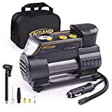 AUTLEAD C2 12V DC Portable Air Compressor Tire Inflator Pump with Digital Gauge for Car Tires and Other Inflatables