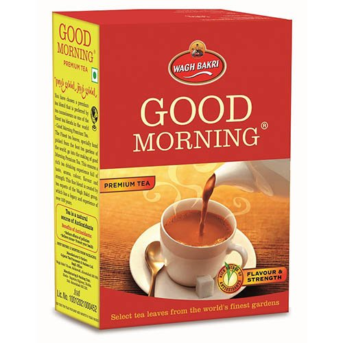 Good Morning Premium Tea Carton Pack, 250g