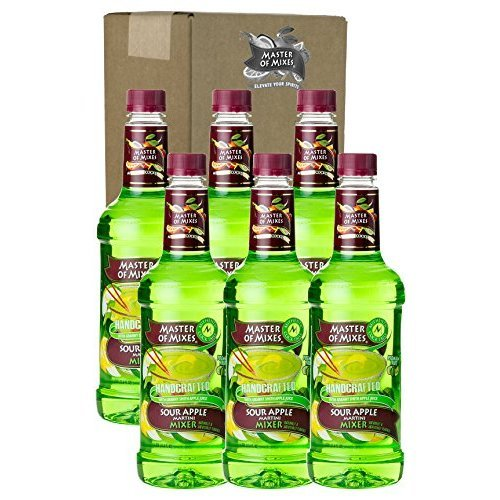 Master Martini Mix Sour Apple 33.8 FZ (Pack of 9) by Master of Mixes
