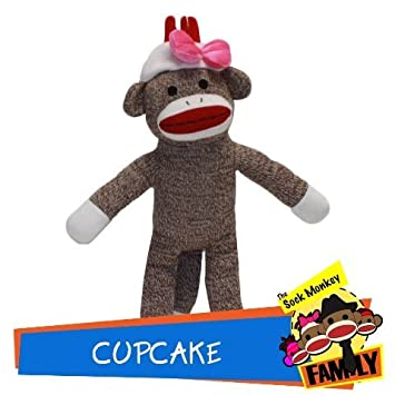Cupcake aus der Socke Affe Familie: Amazon.de: Spielzeug