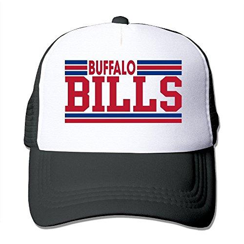 DIYoDGG Unisex Casual Baseball Cap Trucker Mesh Hat Adjustable - Buffalo Bills Black One Size]()