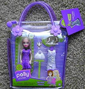 Polly Pocket Fab-tastic Fashions Polly In Tote (Polly Pocket Fashion Bag)