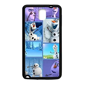 Happy Frozen lovely snow doll Cell Phone Case for Samsung Galaxy Note3