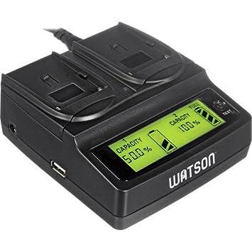 Amazon.com: Watson Duo LCD Cargador para pilas P, H & V ...