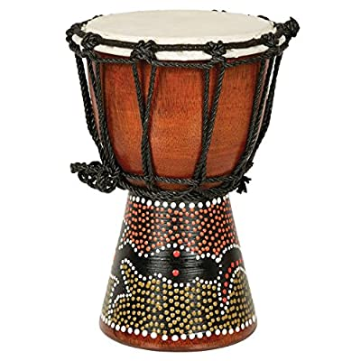 Djembe Drum- African Percussion Drum, Bongo Hand Drum Professional Sound