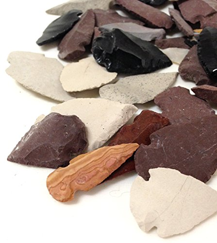 Authentic Arrowheads 50 pieces From Apache Arizona Hand Carved