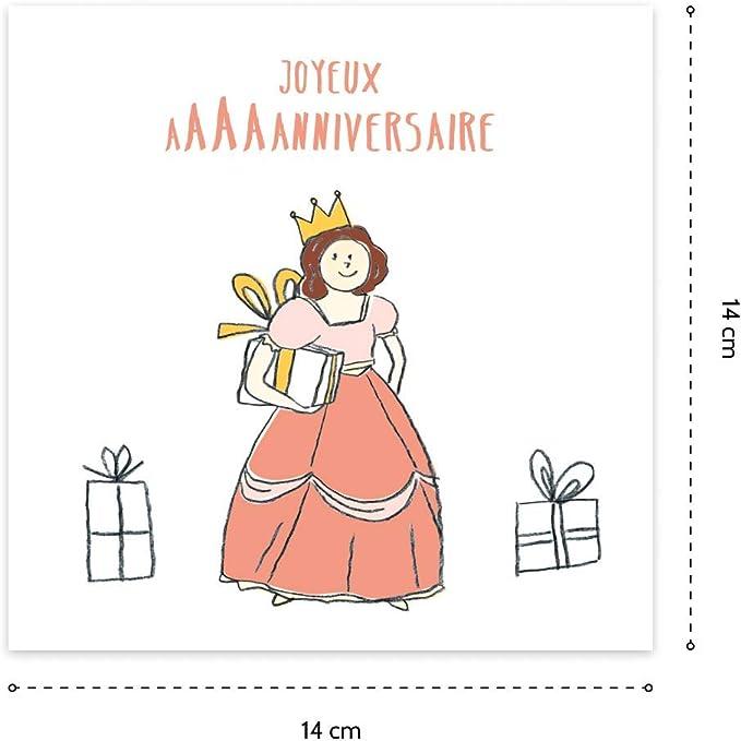 Cartes Joyeux Anniversaire 4 Ans Enveloppes B