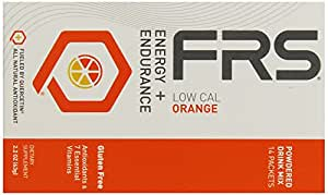 FRS Healthy Energy Powdered Drink Mix, Low Cal Orange, 2.2 Ounce,14 Packets