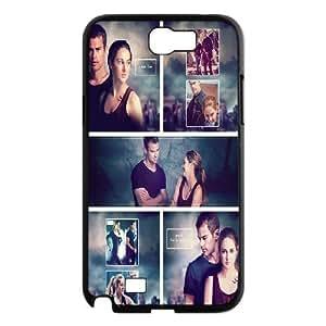 Samsung Galaxy Note 2 Cases Divergent Insurgent Allegiant, Divergent [Black]