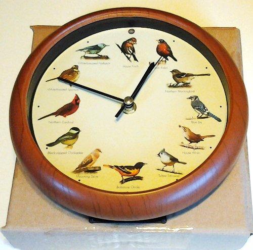 Singing Bird Analog Clock Limited Edition 15th Anniversary
