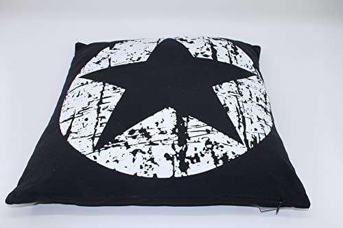 Cojín Estrella de decoración Cojín Manta Cojín cremallera ...