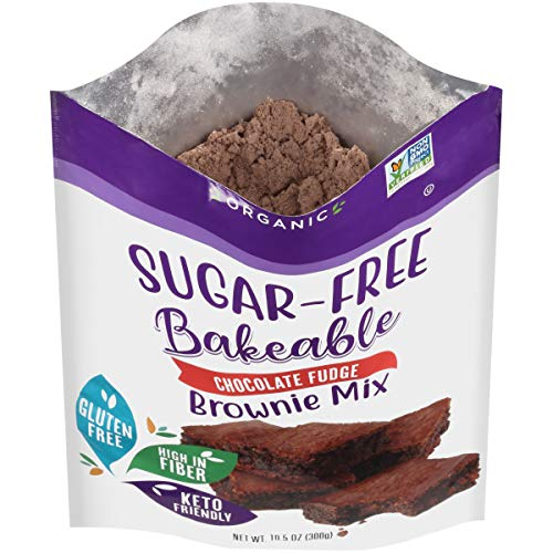 Organic Chocolate Fudge Brownie Mix by Pyure | Sugar-Free, Keto, Low Carb | Bakeables | Makes 11 Brownies 4