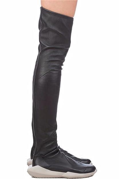 0c3d410eec4 adidas Sneakers Rick Owens Stretch tech Runner Unisex - Leather (BA7338)  4.5 UK