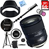 Tamron SP 24-70mm f/2.8 Di VC USD G2 Lens for Nikon Mount with TAP-IN Console Plus 64GB Accessories Kit