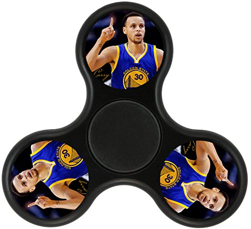 THinL Stephen Golden Fidget Spinner State Curry EDC Finger Toy Hand Toys Focusing Spinning Top Stress Reducer for Relaxation ADD ADHD Autism Anxiety for Adult Kids