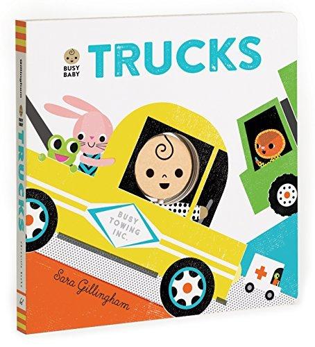 Busy Baby: Trucks by Sara Gillingham (2015-09-15)