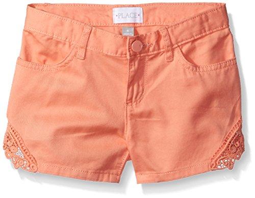 The Children's Place Big Girls' Denim Shorts, Desert Flower 81832, 5