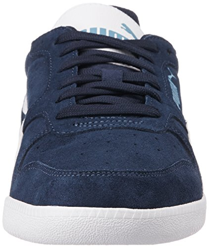 Trainer Puma Rock White Erwachsene Ridge white 18 Blau Top Low Unisex Icra SD Peacoat ZZ1x6npB